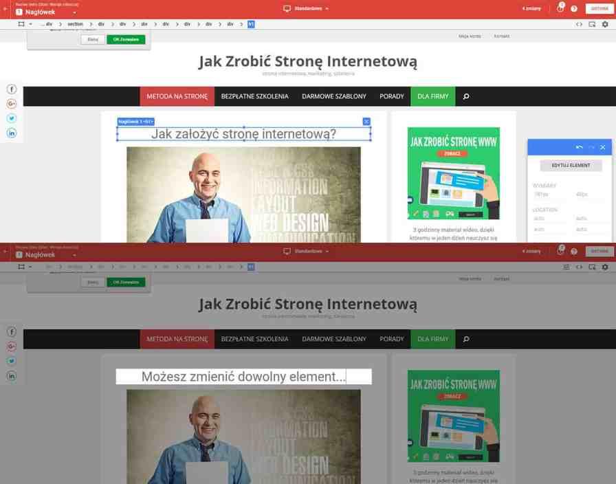 google optimize na JZS