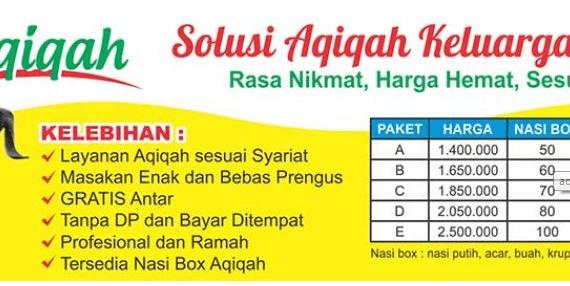 Layanan Aqiqah Daerah Yogyakarta