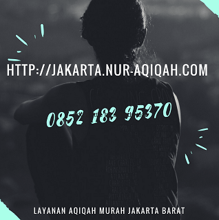 Jasa Layanan Aqiqah Murah di Jakarta Barat