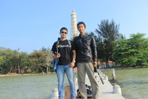 yanjo & fey , jakarta traveller team , taken by arif muhsi