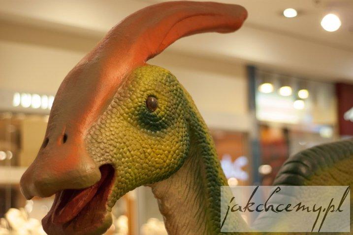 Dinozaur z czubem