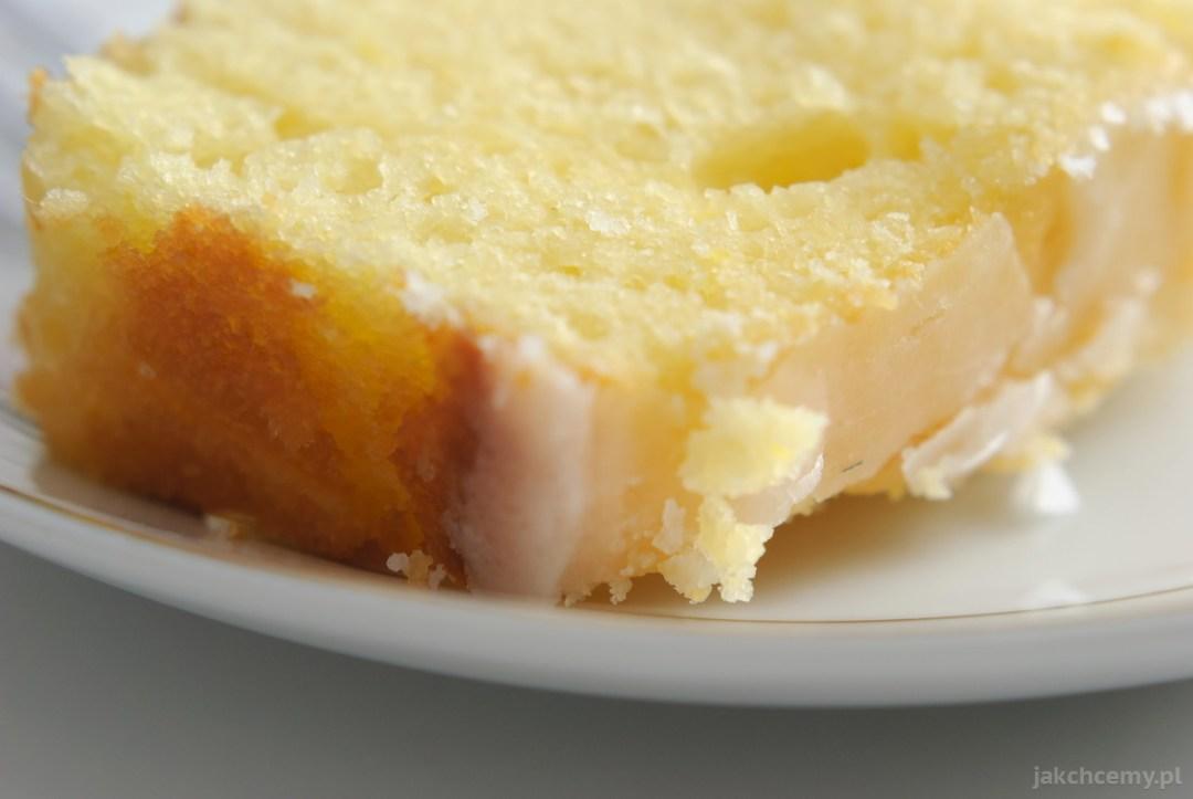 Cytrynowe na talerzyku