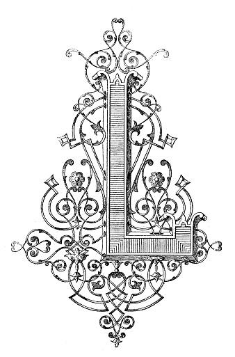 Illustrated L - Letter Art Challenge