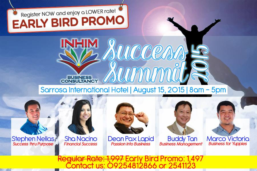 Success Summit 2015 Cebu