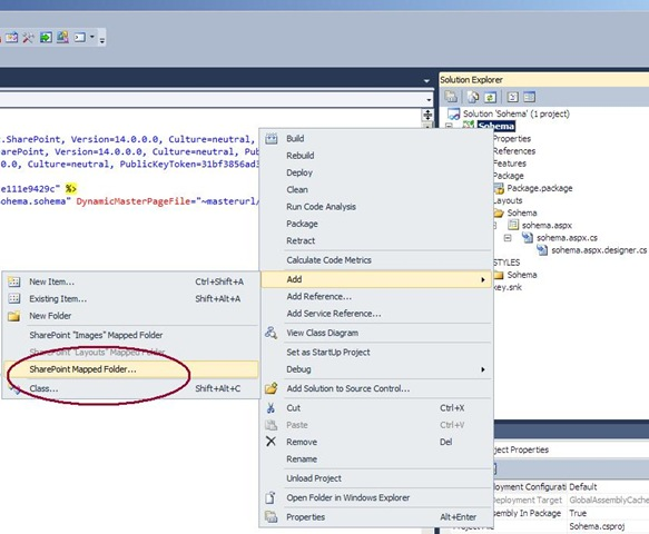 sharepoint 2010 site diagram 2001 honda civic power window wiring adding a css file to application page in vs the add mapped folder dialog is presented which displays all folders under