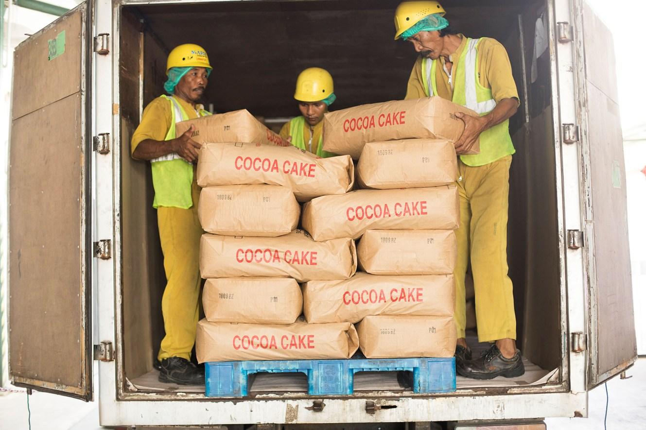 Mars cocoa processing plant - Mamuju, Indonesia.