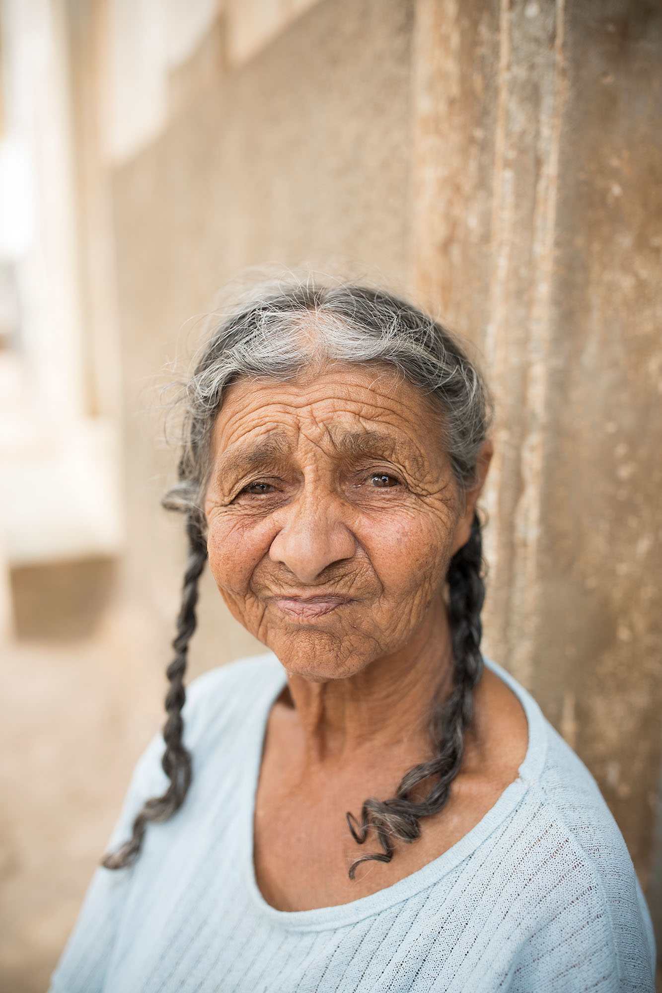 Elderly woman on Maio Island, Cabo Verde