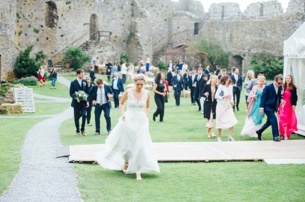 Manobier Castle wedding Photography-227