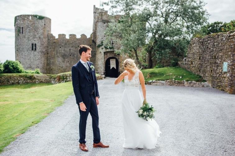 Manobier Castle wedding Photography-233