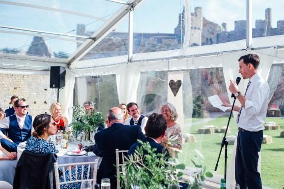 Manobier Castle wedding Photography-265