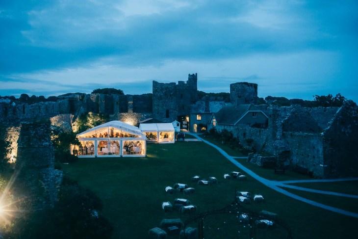 Manobier Castle wedding Photography-314