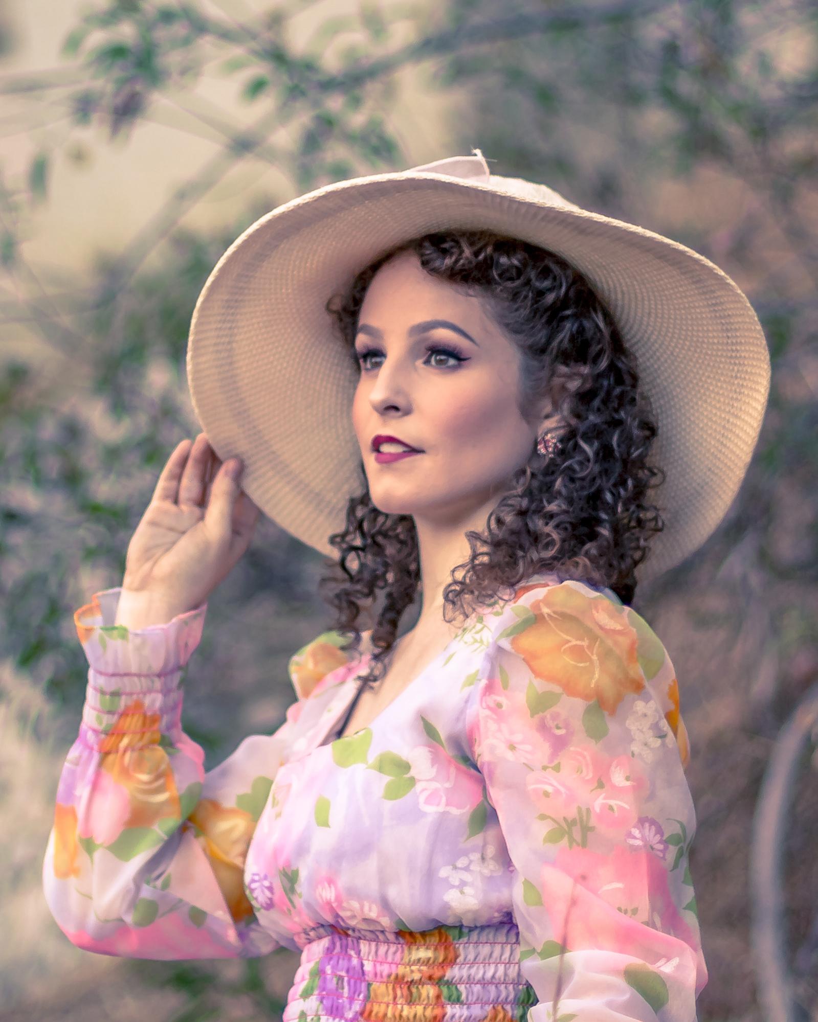 Portrait of Model Katie Hume (@KatHelHum) - © Jake Ross - 7/22/2018