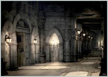castle fantasy inside hallway final ix castles medieval evil dark neogaf alexandria ancient jakerowell hogwarts lost corridor research google robotnik