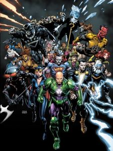 "The villains took over the DC Universe to commemerate the second anniversary of ""The New 52."" (Cover by David Finch & Richard Friend; Property of DC Comics)"