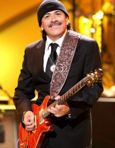 Carlos Santana is one of the greatest guitarists of all-time. (Photo property of Getty Images)