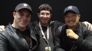 Me, Geoff Johns and Jim Lee 2012