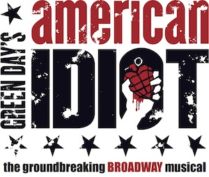 """Green Day's American Idiot! The Musical"" will be in Kansas City this weekend. (Logo courtesy of the Theatre League of Kansas City)"