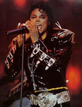 "The King of Pop concluded ""Moonwalker"" with a rendition of ""Come Together."" (Photo property of the Michael Jackson Estate)"
