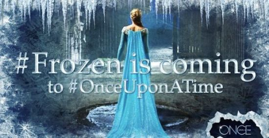"Elsa invades ""Once Upon A Time"""
