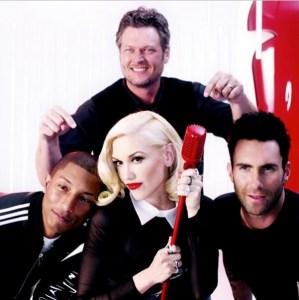 "Pharrell & Gwen join ""The Voice"" family as Season Seven starts!"