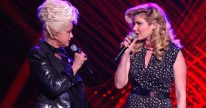 Emily West and Cyndi Lauper AGT True Colors
