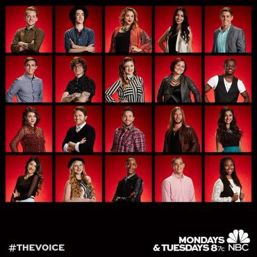 "20 became 12 as ""The Voice: Season Seven"" revealed America's votes. (Photos property of NBC)"