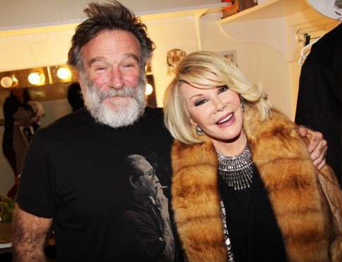 It is hard to believe that we lost both Robin Williams and Joan Rivers this year! (Photo property of FilmMagic's Bruce Glikas)