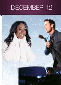 Chris Mann & Oleta Adams bring the holidays to Kansas City