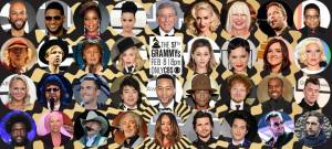 The Grammy 2015 performers