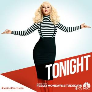 Christina Aguilera returns to The Voice
