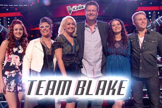 Team Blake The Voice Season Eight