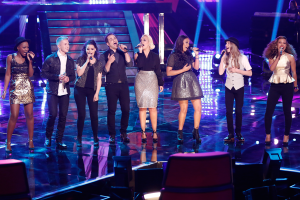The Voice Season Eight Top 8
