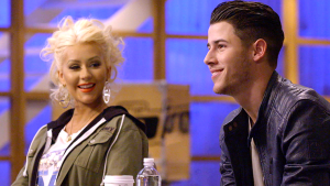 Nick Jonas and Christina Aguilera
