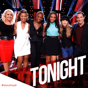 The Voice Season Eight Top Six