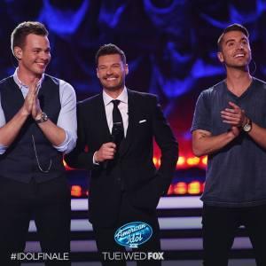 Clark Beckham and Nick Fradiani American Idol finale
