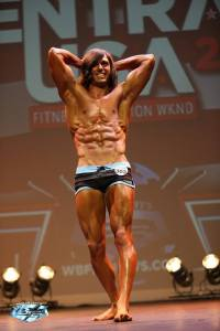Logan Montgomery WBFF fitness competitor