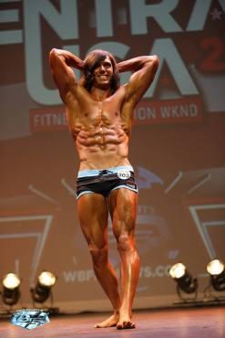 Logan Montgomery WBFF fitness competitor