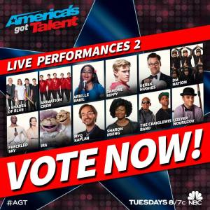 "Emily West and William Close return to ""AGT"""