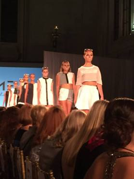 16-year-old fashion protege Molly Elizabeth continued to turn heads with her fantastic designs! (Photo property of Jacob Elyachar)