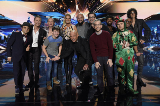 America's Got Talent Season 10 Top 10 and the judges