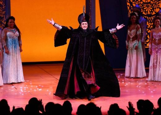 Jonathan Freeman reprises Jafar on Broadway