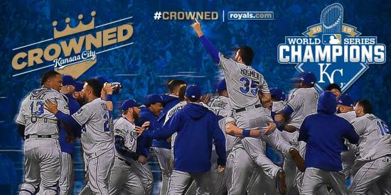 Kansas City Royals World Series Champions
