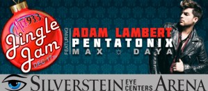 Adam Lambert Jingle Jam 2015 Mix 93.3