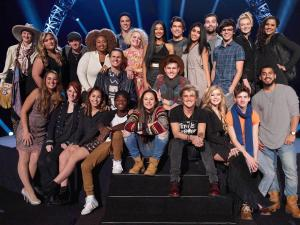 "12 more artists sing for ""American Idol"" glory"