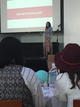 Bachelor's Jade Tolbert speaks in Kansas City