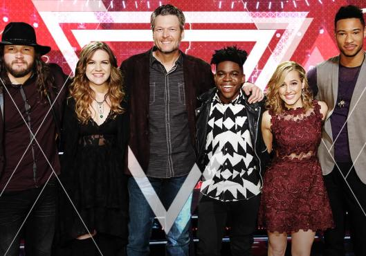 Team Blake The Voice Season 10