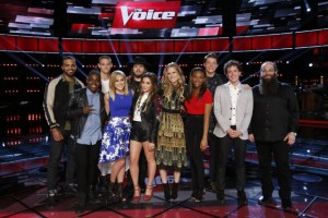 """The Voice: Season 10"" Top 11 duke it out!"