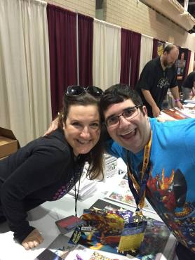 Comic creator Amanda Conner made her first Planet Comicon appearance this past weekend. (Photo property of Jacob Elyachar)