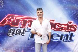 Simon Cowell goes for the Golden Buzzer