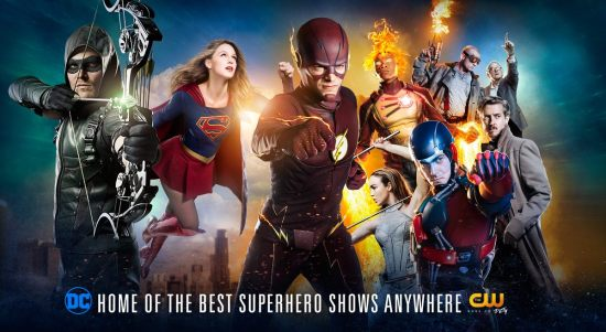 """Flash"" and ""Legends of Tomorrow"" will be highlighted today at the San Diego Comic-Con. (Photo property of the CW & DC Entertainment)"